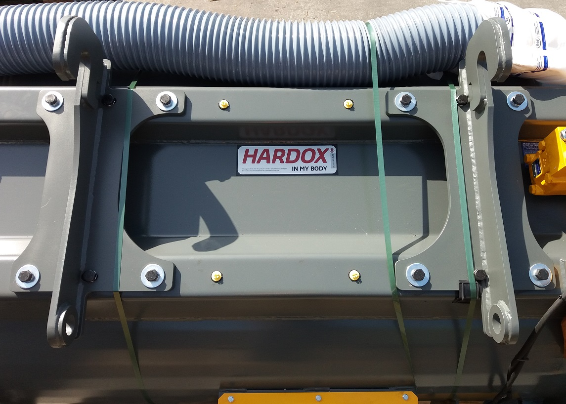 mieszalnik hardox walz trade przykręcane mocowanie