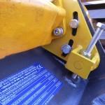 mieszalnik hardox napinanie łańcucha